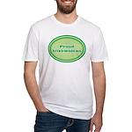 Proud Irishwoman Fitted T-Shirt