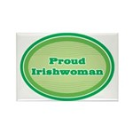 Proud Irishwoman Rectangle Magnet (100 pack)