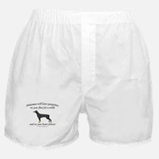 Doberman Pawprints Boxer Shorts