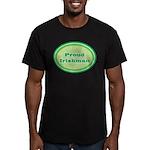 Proud Irishman Men's Fitted T-Shirt (dark)