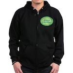 Proud Irishman Zip Hoodie (dark)