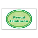 Proud Irishman Rectangle Sticker