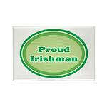 Proud Irishman Rectangle Magnet (100 pack)