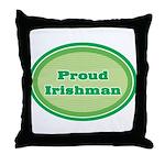 Proud Irishman Throw Pillow