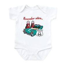 Remember When Route 66 Infant Bodysuit