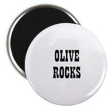 OLIVE ROCKS Magnet