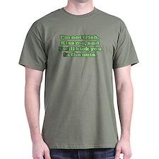 I'm NOT Irish - Don't Kiss Me! T-Shirt