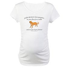 Golden Retriever Pawprints Shirt