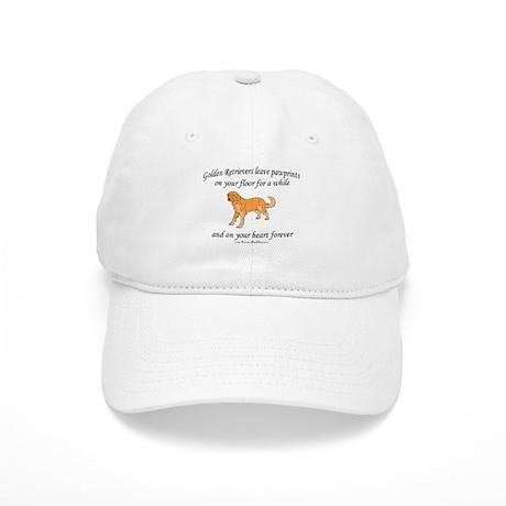 Golden Retriever Pawprints Cap