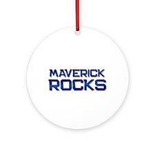 maverick rocks Ornament (Round)