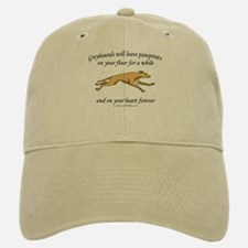 Greyhound Pawprints Baseball Baseball Cap