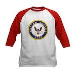 United States Navy Emblem (Front) Kids Baseball Je