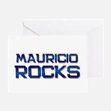 mauricio rocks Greeting Card