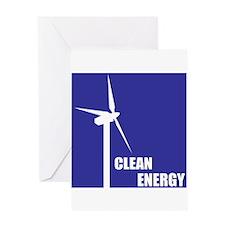 Clean Energy Greeting Card