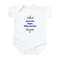 Diaper Filling Machine Infant Bodysuit