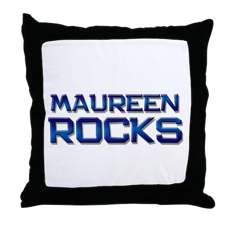 maureen rocks Throw Pillow