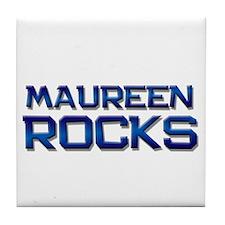 maureen rocks Tile Coaster