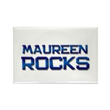 maureen rocks Rectangle Magnet