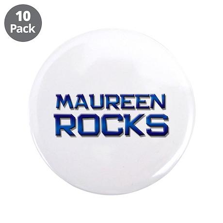 """maureen rocks 3.5"""" Button (10 pack)"""