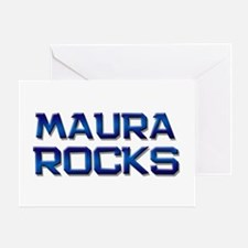 maura rocks Greeting Card
