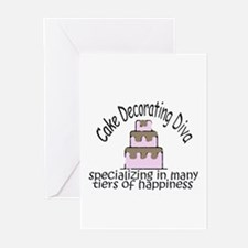 Many Tiers of Happiness Greeting Cards (Pk of 10)