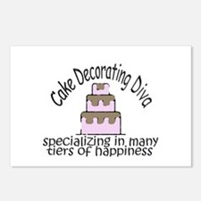 Many Tiers of Happiness Postcards (Package of 8)