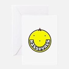 SMILEY'S DAUGHTER Greeting Card