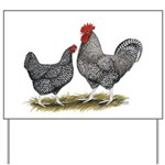 Cuckoo Marans Yard Sign