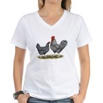 Cuckoo Marans Women's V-Neck T-Shirt