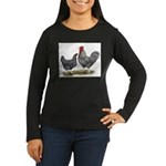 Cuckoo Marans Women's Long Sleeve Dark T-Shirt