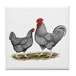 Cuckoo Marans Tile Coaster