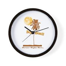 Twilight Isle Esme Wall Clock