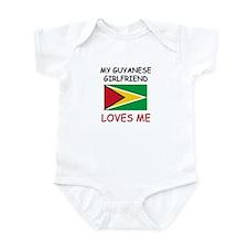 My Guyanese Girlfriend Loves Me Infant Bodysuit