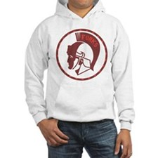 Twilight Forks Spartans Mascot Hoodie