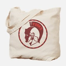 Twilight Forks Spartans Mascot Tote Bag