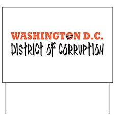 Washington D C Yard Sign