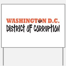 Washington D C Yard Sign