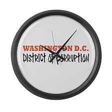 Washington D C Large Wall Clock