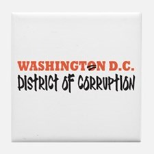 Washington D C Tile Coaster