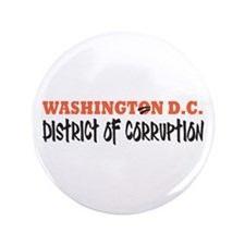 "Washington D C 3.5"" Button (100 pack)"