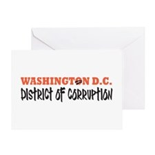 Washington D C Greeting Card