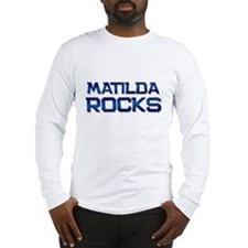 matilda rocks Long Sleeve T-Shirt