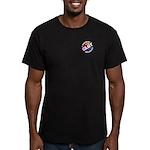 GLBT Pocket Equality Men's Fitted T-Shirt (dark)