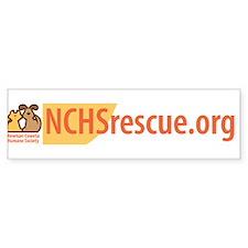 Newnan-Coweta Humane Society Bumper Bumper Sticker