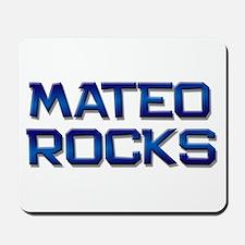 mateo rocks Mousepad