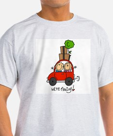 Car We're Moving T-Shirt