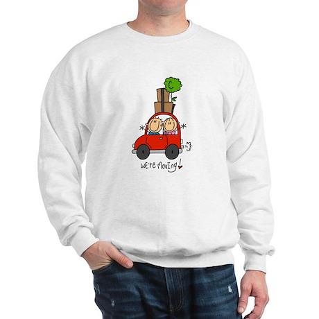 Car We're Moving Sweatshirt
