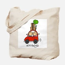 Car We're Moving Tote Bag