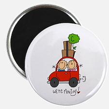 "Car We're Moving 2.25"" Magnet (100 pack)"