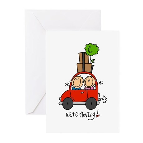 Car We're Moving Greeting Cards (Pk of 10)